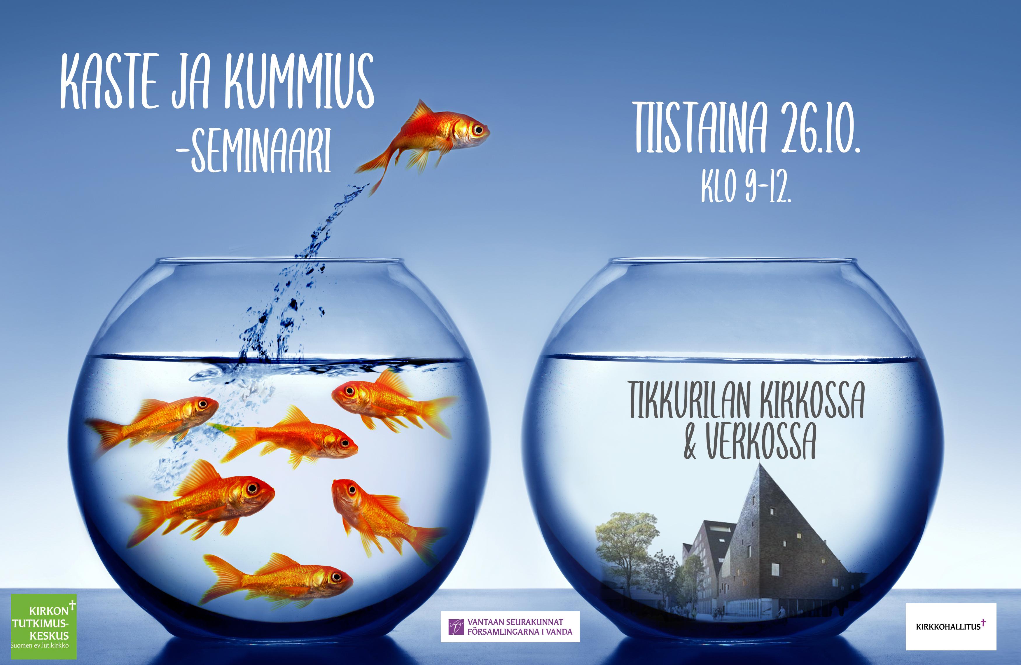Kaste ja kummius -seminaari Vantaalla ja verkossa syksyllä 26.10. klo 9-12