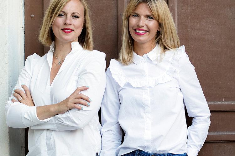 Anna Bertills och Linn Jung