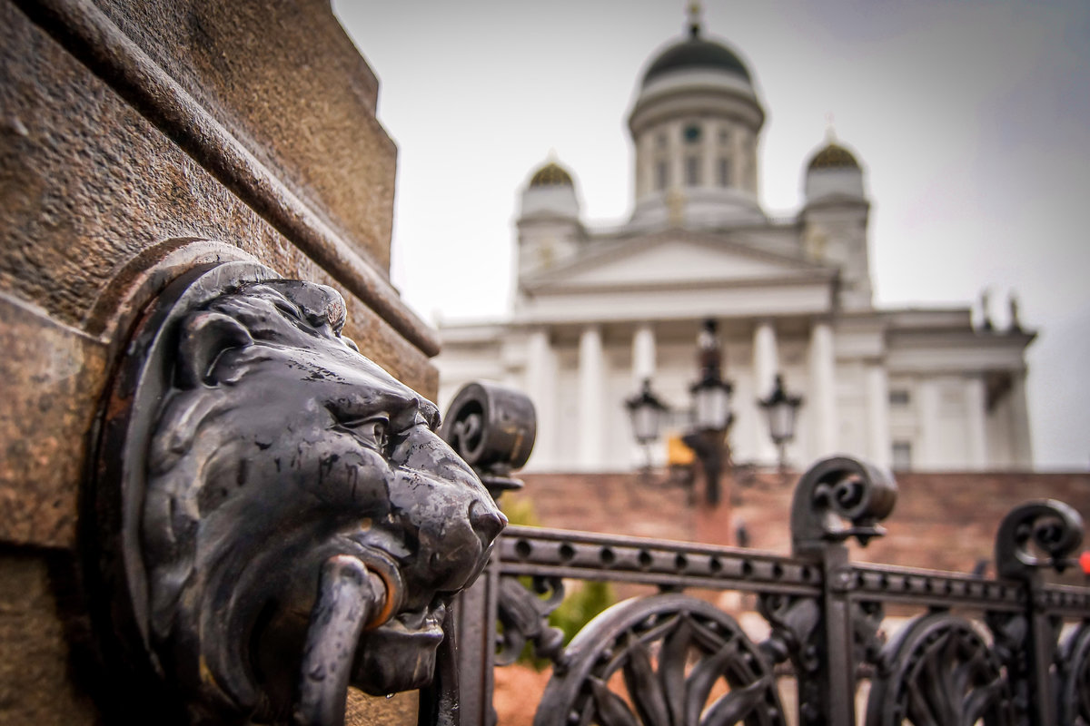 Stock photo. Helsinki Cathedral.
