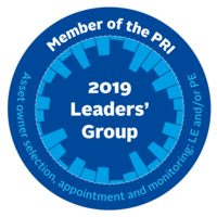 Member of the PRI Leaders' Group (Asset owner selection, appointment and monitoring: LE and/or PE)