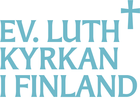 Logo: Ev.luth kyrkan i Finland.