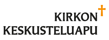 Kirkon keskusteluavun logo
