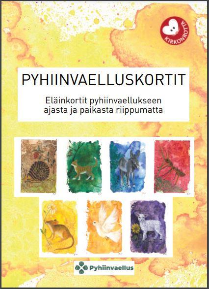 Pyhiinvaelluskortit - Eläinkortit pyhiinvaellukseen ajasta ja paikasta riippumatta